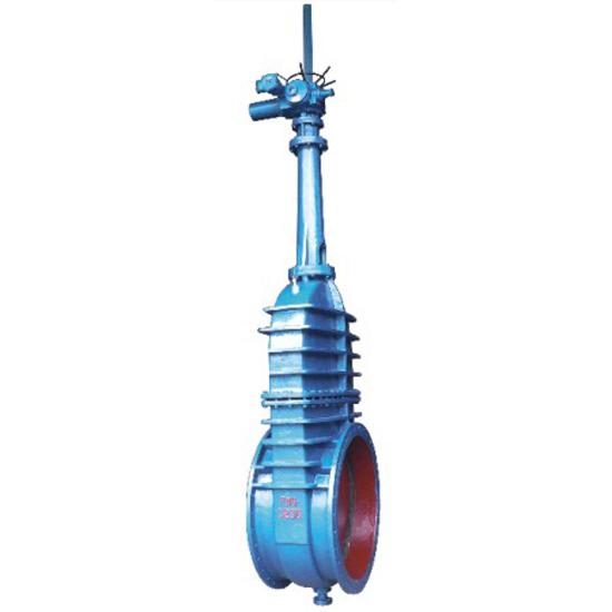 (SF)YSZ942W-2.5C 电动水封楔式双闸板煤气闸阀