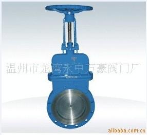 煤气阀 刀型煤气专用闸阀 手动煤气闸阀
